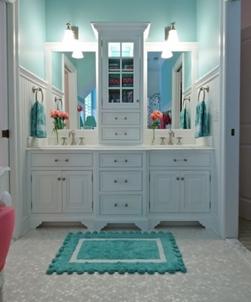 Jack and jill bathroom home design for Jack and jill house